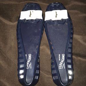 FERRAGAMO jelly sandals